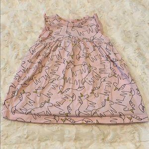 Unicorn Carter's dress